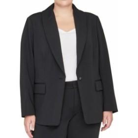 Blazer ブレザー ファッション 衣類 Rachel Roy NEW Black Single Button Womens Size 20W Plus Blazer Jacket