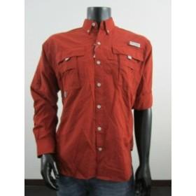 columbia コロンビア ファッション アウター NWT Mens M Columbia PFG Bahama II Long Sleeve LS Fishing Shirt - Rusty