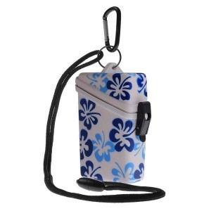 Blue Witz Flower Keep It Safe Lightweight Waterproof Sport Case