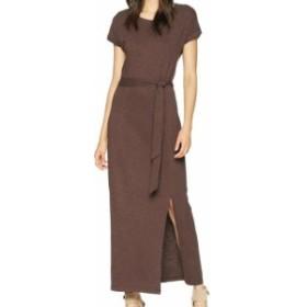 Sanctuary サンクチュアリ ファッション ドレス Sanctuary Womens Brown Mesa Size Small S Isle T-Shirt Maxi Dress