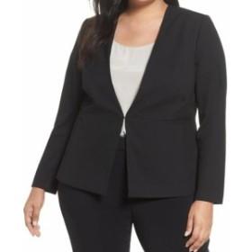 Blazer ブレザー ファッション フォーマル Sejour NORDSTROM Womens Black Size 20W Plus Collarless Blazer