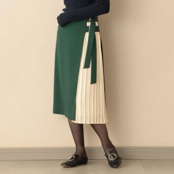SALE【キャスト(CAST:)】 ★★サイドプリーツコンビスカート グリーン5