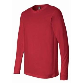 ファッション トップス Bella+Canvas Mens Long Sleeve T-Shirt Plain Tee 10 Colors 3501 Fashion Cool New