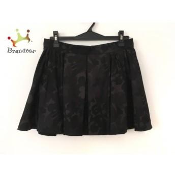 ロイスクレヨン Lois CRAYON ミニスカート サイズM レディース 美品 ダークグレー×黒 迷彩柄   スペシャル特価 20200112