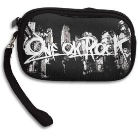 ワンオク ロック ONE OK ROCK 可愛い財布 小銭入れ ミニ財布 コンパクト ジップ ポーチ 多機能 カード入れ シンプル 携帯便利 ファスナー