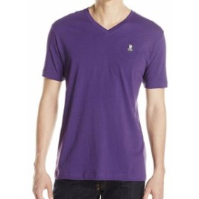Psycho Bunny サイコバニー ファッション トップス Psycho Bunny By Robert Godley Mens Premium Pima Cotton V-Neck T-Shirt Shirt