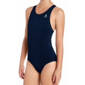 tyr ティア スポーツ用品 スイミング TYR NEW Navy Blue Womens Size 38 One-Piece Cutout-Back Solid Swimwear #646