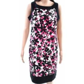 Jessica Howard ジェシカハワード ファッション ドレス Jessica Howard NEW White Pink Womens 10P Petite Floral Sheath Dress