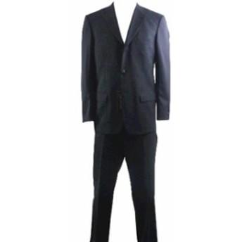 Valentino ヴァレンティノ ファッション フォーマル Valentino Mens 3-Buttons 2-Back Vent Black Wool Suit Sz: 50