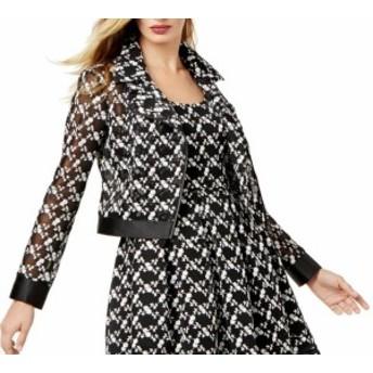 Sachin  ファッション 衣類 SB Sachin & Babi NEW Black Womens Size SB Embroidered-Lace Jacket