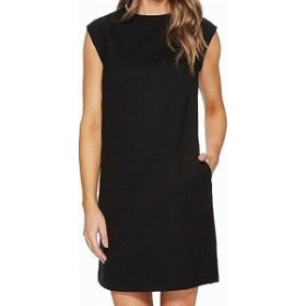 Pendleton ペンドルトン ファッション ドレス Pendleton NEW Rich Black Womens Size 2 Seamed Solid Shift Dress