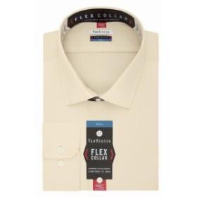 ファッション ドレス Van Heusen NEW Beige Mens Size 17 1/2 Big & Tall One-Pocket Dress Shirt