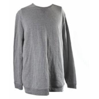 ファッション トップス Tasso Elba Grey Space-Dye Crew Neck Sweatshirt XL
