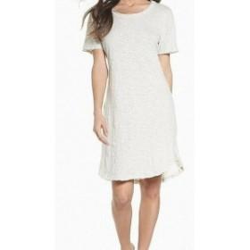 ファッション ドレス Knot Sisters Womens Dess White Size XS T-Shirt Short Sleeve Scoop Neck