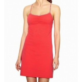 Lucy ルーシー ファッション ドレス Lucy NEW Orange Womens Size XL Ruched Stretch Built In Bra Sheath Dress
