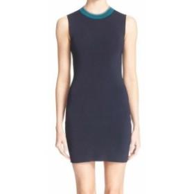 rag & bone ラグ&ボーン ファッション ドレス Rag & Bone NEW Blue Colorblock Women Size Medium M Lucine Sheath Dress
