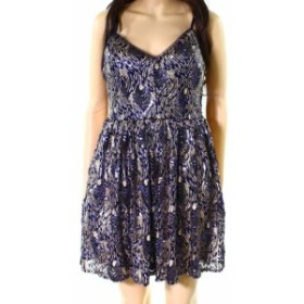 ファッション ドレス Emerald Sundae NEW Blue Size 5 Junior Sequined A-Line Sheath Dress