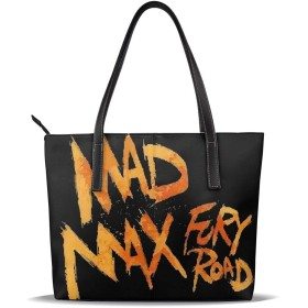 トートバッグ ショルダーバッグ ハンドバッグ マッドマックス レディース 手提げバッグ PUレザー A4対応可 軽量 大容量 多機能 収納便利 人気 通勤 通学 ポケット付 ファスナー 男女兼用