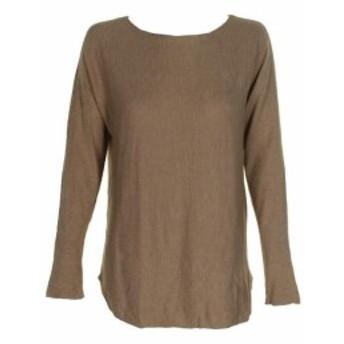 HEATHER  ファッション トップス Inc International Concepts Heather Ginger Long-Sleeve Boat Neck Sweater