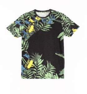 NWT Men/'s American Rag T-Shirt White Tropical Aloha Surf Tee Short Sleeve Cotton