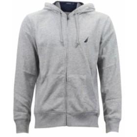 nautica ノーティカ ファッション トップス Nautica Mens Full Zip Long Sleeve Hoodie Sweatshirt