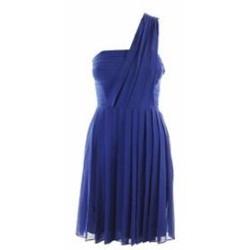 Rachel Roy レイチェルロイ ファッション ドレス Rachel rachel roy blue pleated one shoulder party