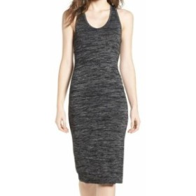 HEATHER  ファッション ドレス Leith NEW Black Charcoal Heather Womens Size XXL Bodycon Sheath Dress