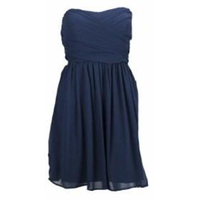 ファッション ドレス Bcx juniors navy without strap bridesmaid dress strapless enveloping