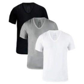 Calvin Klein カルバンクライン ファッション トップス Calvin Klein Slim Fit Cotton Mens V-Neck or Crew Neck 3 Pack T-Shirts