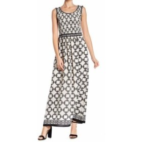 max マックス ファッション ドレス Max Studio NEW Black Womens Size Small S Smocked Printed Maxi Dress