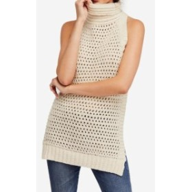 Free People フリーピープル ファッション トップス Free People Womens Beige Size Small S Crochet Trim Vest Sleeveless Top