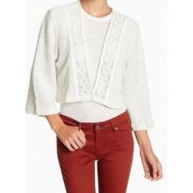 BB Dakota BB ダコタ ファッション 衣類 Jack By BB Dakota NEW Beige Womens Size Small S Crochet Lace Jacket