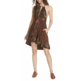 Free People フリーピープル ファッション ドレス Free People NEW Brown Womens Size Small S Beach Day Mini Sheath Dress