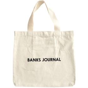 [BANKS JOURNAL(バンクス ジャーナル)] LABEL TOTE BAG トートバッグ [並行輸入品] Off White ONESIZE