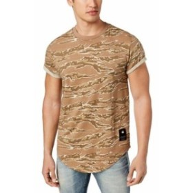 G-Star G-スター ファッション トップス G-Star NEW Brown Mens Size Small S Graphic Camo Print Tee T-Shirt