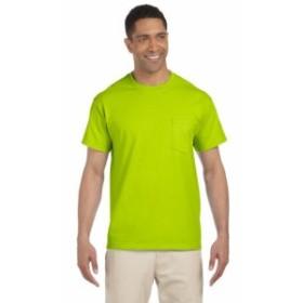 Gildan ギルダン ファッション トップス Gildan Mens 6.1 oz. Ultra Cotton Pocket T-Shirt 6 Pack G230 All Sizes