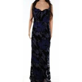 Laundry by Shelli Segal ランドリーバイシェルシーガル ファッション ドレス Laundry by Shelli Segal NEW Blue Womens Size 4 Velvet M