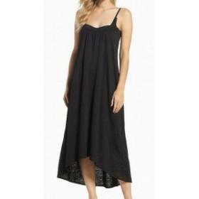 Leith ライス スポーツ用品 スイミング Leith NEW Black Spaghetti Strap Womens Size XS Cover-Up Swimwear Dress