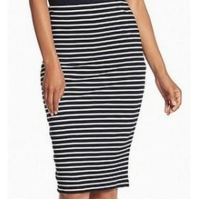 ファッション スカート Catherine Malandrino NEW Black Womens Size Medium M Stretch Knit Skirt