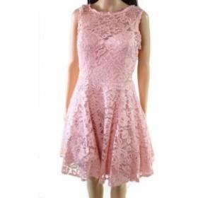 ファッション ドレス Xscape NEW Pink Womens Size 10 Floral Lace A-Line Sheath Dress