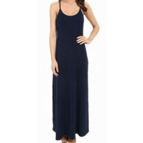 Tommy Bahama トミーバハマ ファッション ドレス Tommy Bahama NEW Navy Blue Womens Size Medium M Scoop Neck Maxi Dress