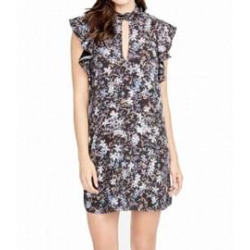 Rachel Roy レイチェルロイ ファッション ドレス RACHEL Rachel Roy NEW Black Womens Size Small S Floral Shift Dress