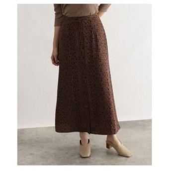 OZOC(オゾック)[洗える]ナローマキシスカート