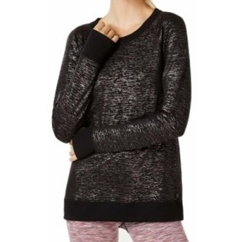 ファッション トップス Ideology NEW Black Womens Size Medium M Stretch Crossback Sweater