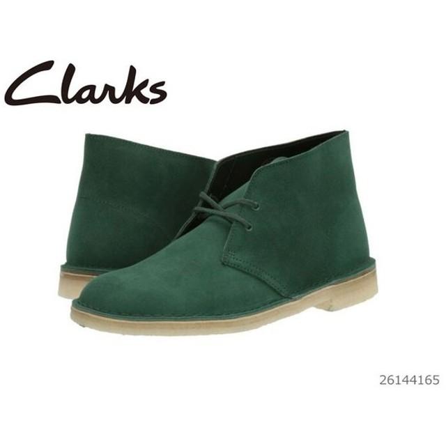 クラークス Clarks Desert Boot Forest Green Suede メンズ ブーツ 26144165 靴 正規品
