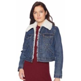 Levis リーバイス ファッション 衣類 Levis Womens Button Up Sherpa Lined Styled Denim Jean Trucker Jacket 578940000