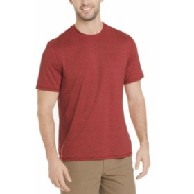 Bass バス ファッション トップス G.H. BASS & CO. NEW Red Mens Small S Space Dye Crewneck Tee T-Shirt