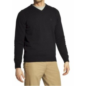 IZOD アイゾッド ファッション トップス Izod Mens Premium Essentials Long Sleeve V-Neck Sweater Shirt