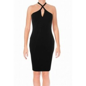 LIKELY ライクリー ファッション ドレス LIKELY Womens Dress Black Size 12 Sheath Halter Bodycon Clubwear