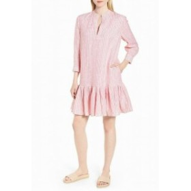 Nordstrom ノードストローム ファッション ドレス Nordstrom Signature NEW Pink Womens Size Small S Striped Shift Dress